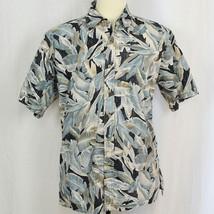 Cooke Street Honolulu 100% Cotton Hawaiian Floral Camp Aloha Shirt Men S... - $22.44
