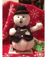 CVS RUDOLPH MISFIT SAM THE SNOWMAN PLUSH BEANIE BRAND NEW WITH TAGS MINT... - $17.99