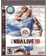 NBA Live 10 Playstation 3 EA Sport - $6.25