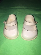VINTAGE White Rubber DOLL SHOES by NEW YORK DOL... - $7.91
