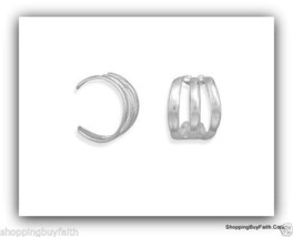 Women's Ear Cuff Non Piercing Three Row Polishe... - $14.84