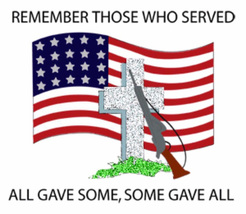 Remember Those Who Served Cross Stitch Pattern***L@@K***~~ I SEND WORLD-WIDE ~~ - $4.95