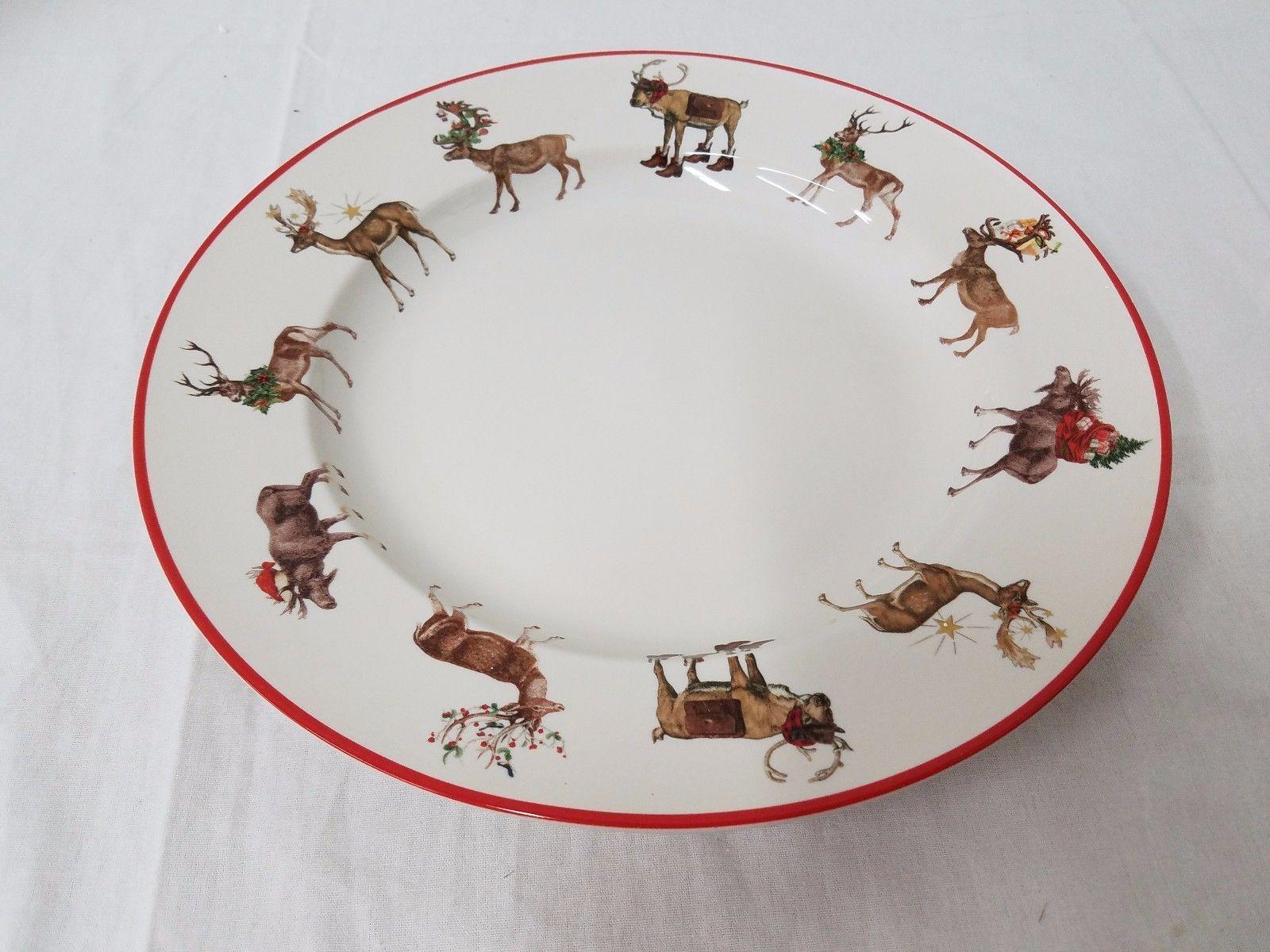 Reindeer Plate Related Keywords Reindeer Plate Long Tail. SaveEnlarge · Pottery Barn ... & Pottery Barn Reindeer Dinnerware - Castrophotos