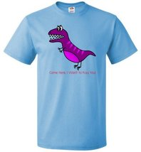 T Rex Come Back I Want to Kiss You Men's or Women's Short Sleeve Shirts - $20.75+