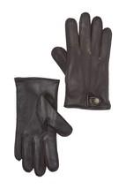 UGG Snap Smart Gloves Medium Brown NEW - $41.56