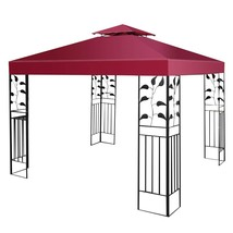 10' x 10' 1-Tier or 2-Tier 3 Colors Patio Canopy Top Replacement Cover-2... - $55.36