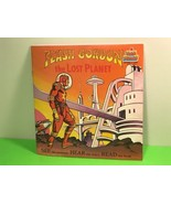 VINTAGE 1982 READ ALONG BOOK RECORD RPM 33 FLASH GORDON LOST PLANET KID ... - $29.65