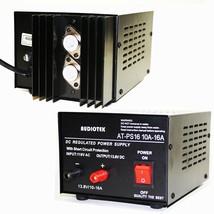 Audiotek - Output 16A Amp Mobile 13.8 Volt DC Power Supply AT-PS16 - $59.35