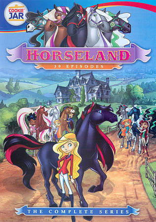 Horseland: The Complete Series (DVD, 2010, 4-Disc Set) New Children's TV Show