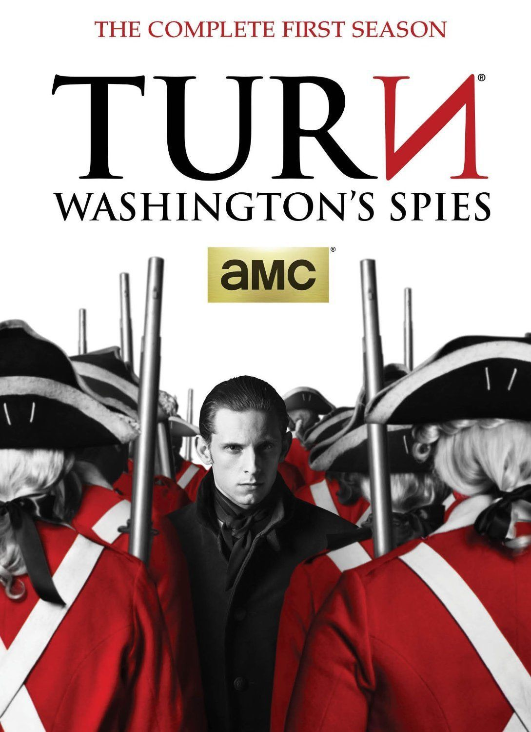 TURN: Washington's Spies Complete First Season 1 (3 DVD Set) New AMC TV Series