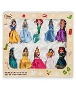 Disney Parks Store Disney Princess Sketchbook 10 Ornament Set Cinderella... - $168.29