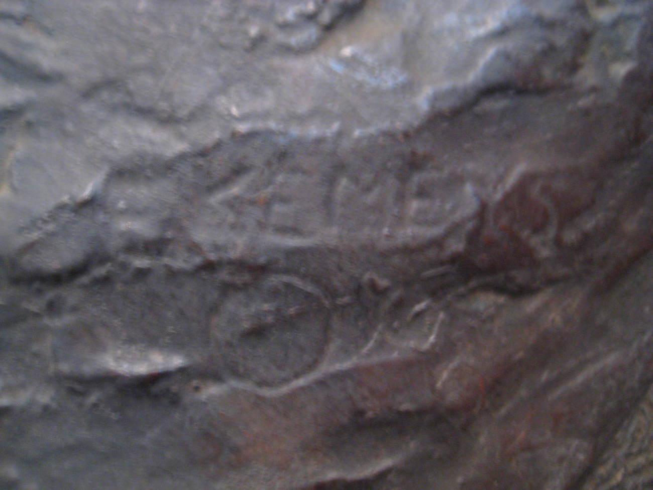 Edward Kemeys  Bronze - # 1 Sitting Bull 1894 w/ Provenance - Rare Piece Native