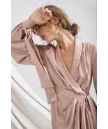 New CMEO COLLECTIVE  Influential Long Sleeve Dress - Sand - $229 Size Small - $116.82
