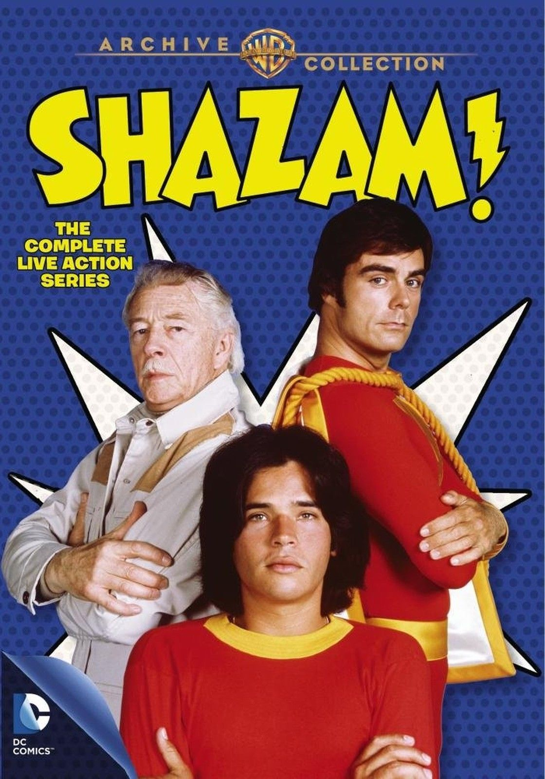 Shazam! The Complete Live Action Series (DVD Set) New Classic TV Show