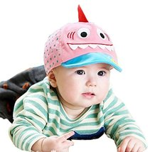 Spring/Summer Baby Pink Peaked Cap Toddler Sun Protection Hat for 6-36M