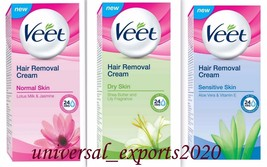 Veet Hair Removal Cream for use on the legs, arms, underarms & bikini line  - $6.17+