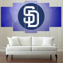 5 Pcs HD Printed San Diego Padres Sport Team Picture Canvas Wall Painting - $47.99 - $179.99