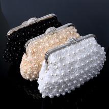Beaded women evening handbag,  wedding bridal handbag - $29.99