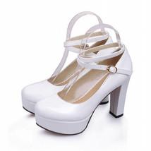 Vintage Womens Platform heels, Wedding shoe, Womens dress heels image 4