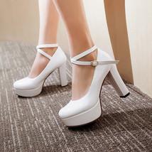 Vintage Womens Platform heels, Wedding shoe, Womens dress heels image 5