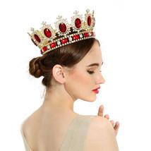 Bling Bridal royal Queen/King crown, rhinestone tiara bridal  head Crown - $99.99+