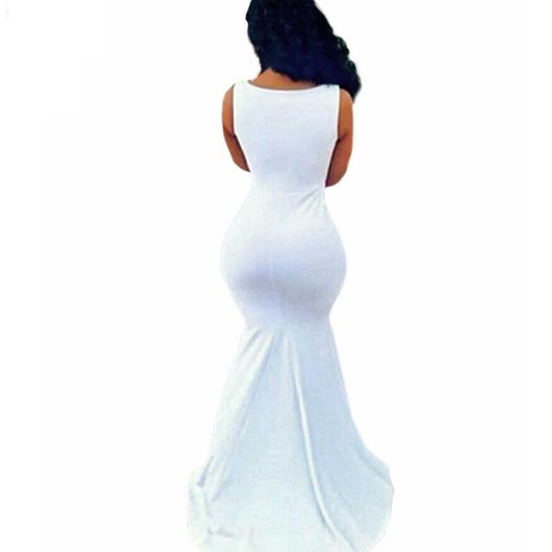 Mermaid Body Con Maxi dress Party, club, Photo shoot dress, Baby shower dress