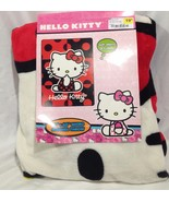 "Hello Kitty 46"" x 60"" Micro Raschel Throw.  So Soft - $19.48"
