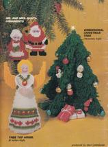 PLASTIC CANVAS CHRISTMAS NATIVITY SCENE ANGEL AMERICAN SCHOOL NEEDLEWORK... - $8.99