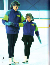Handknits For Ice Skaters Knitting Patterns Patons #543 Kids, Men, Ladies, Teen - $9.98