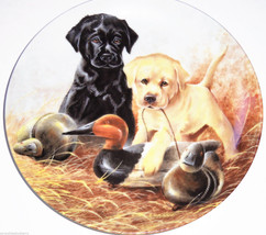 Labrador Retrievers Collector Plate 1988 A Perfect Set United Kennel Clu... - $59.95