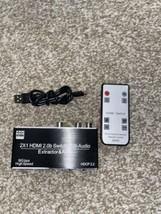 HDMI Switch 2 in 1 Out 4K@60hz, avedio links 2-Port HDMI2.0b Switcher Au... - $43.27