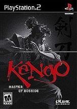 New! Kengo Master of Bushido PlayStation 2 PS2 Free Shipping Fighting Japan - $17.81