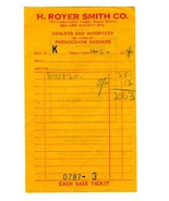 H Royer Smith Co. Philadelphia 1944 Sales Receipt Dealers in Phonograph ... - $44.50