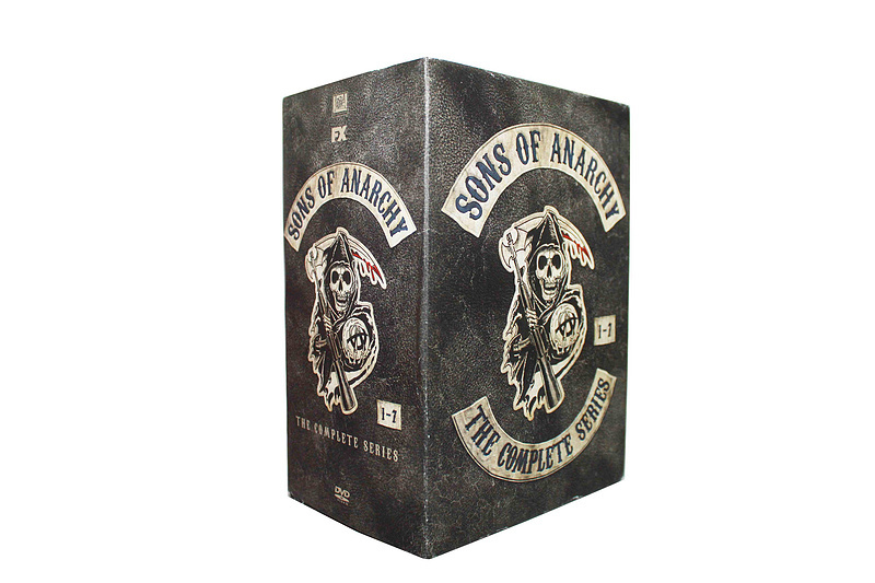 Sons of Anarchy The Complete Series Seasons 1-7 DVD BoxSet 30 Dsic Free Shipping