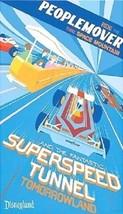 "Disneyland ""People Mover/Super Speed Tunnel"" Magnet - $6.99"