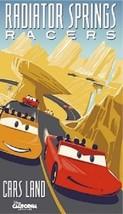 "Disneyland ""Cars Land/Radiator Springs Racers"" Magnet - $6.99"
