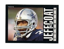 1985 Topps #45 Jim Jeffcoat -ROOKIE- Dallas Cowboys- - $1.50