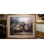 Thomas Kinkade Winsor Manor 24 x 30  20 /95 Studio Proof Canvas - $4,514.40