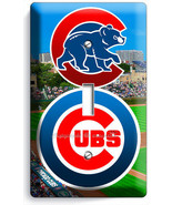 CHICAGO CUBS MLB BASEBALL TEAM LOGO SINGLE LIGH... - $7.99
