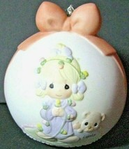 """Avon 2003 Precious Moments """" May Your Christmas Be Delightful"""" Girl & Dog New - $8.00"""
