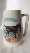 Hyalyn Ceramic Mug Hunting Hound Dog Ceramic Mug USA #179 - $26.54