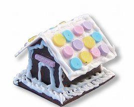 Christmas DOLLHOUSE Gingerbread House1.785/8 Reutter Porcelain NRFB NEW 1:12 - $9.75