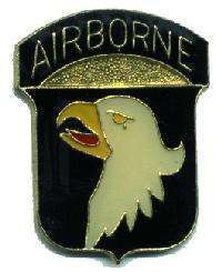 12 Pins - 101st AIRBORNE , army hat lapel pin #1938