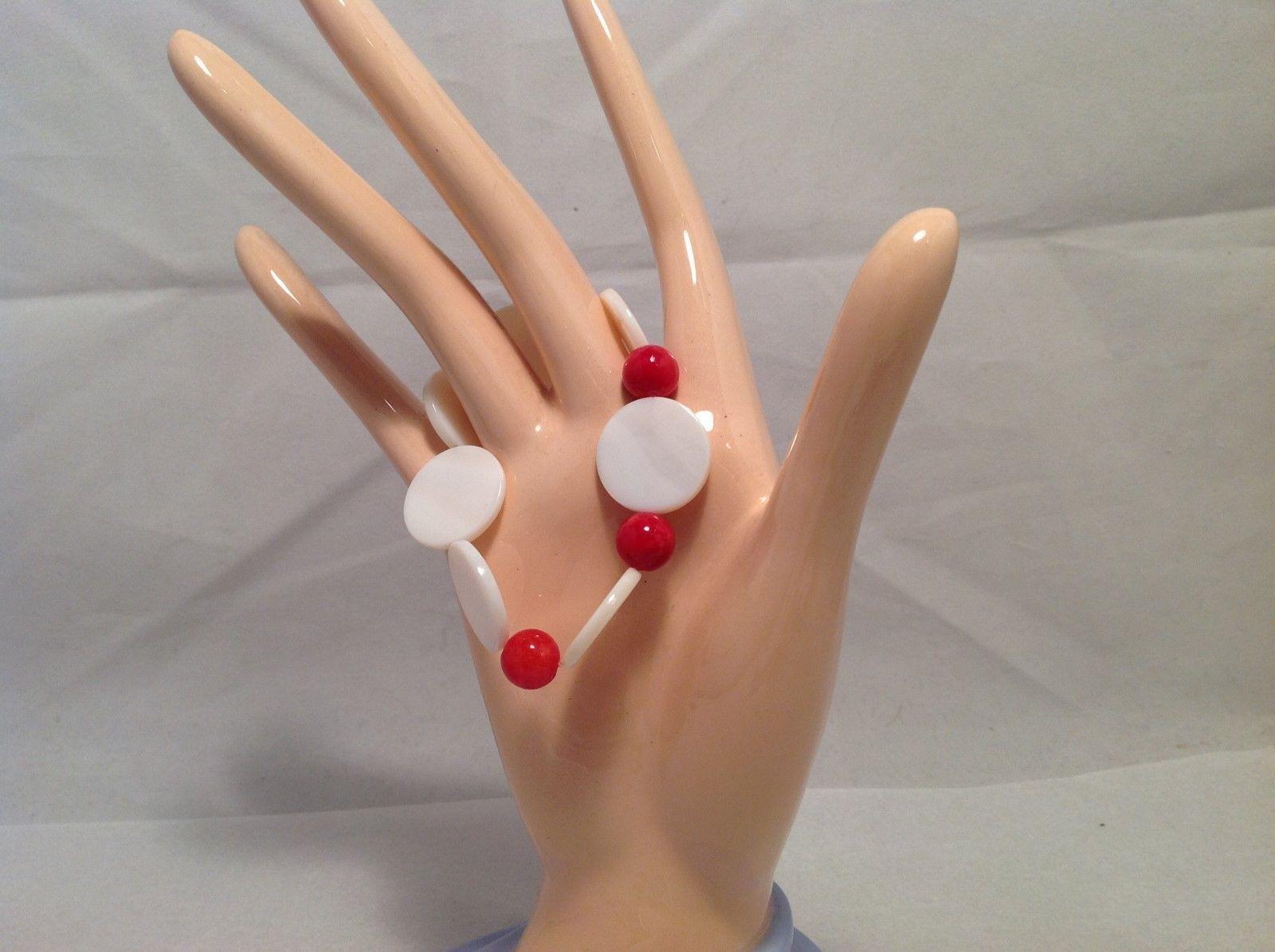 NEW Handmade Red Beaded Bracelet