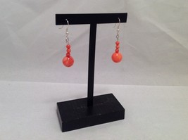 NEW Handmade Gorgeous Orange Teardrop Earrings