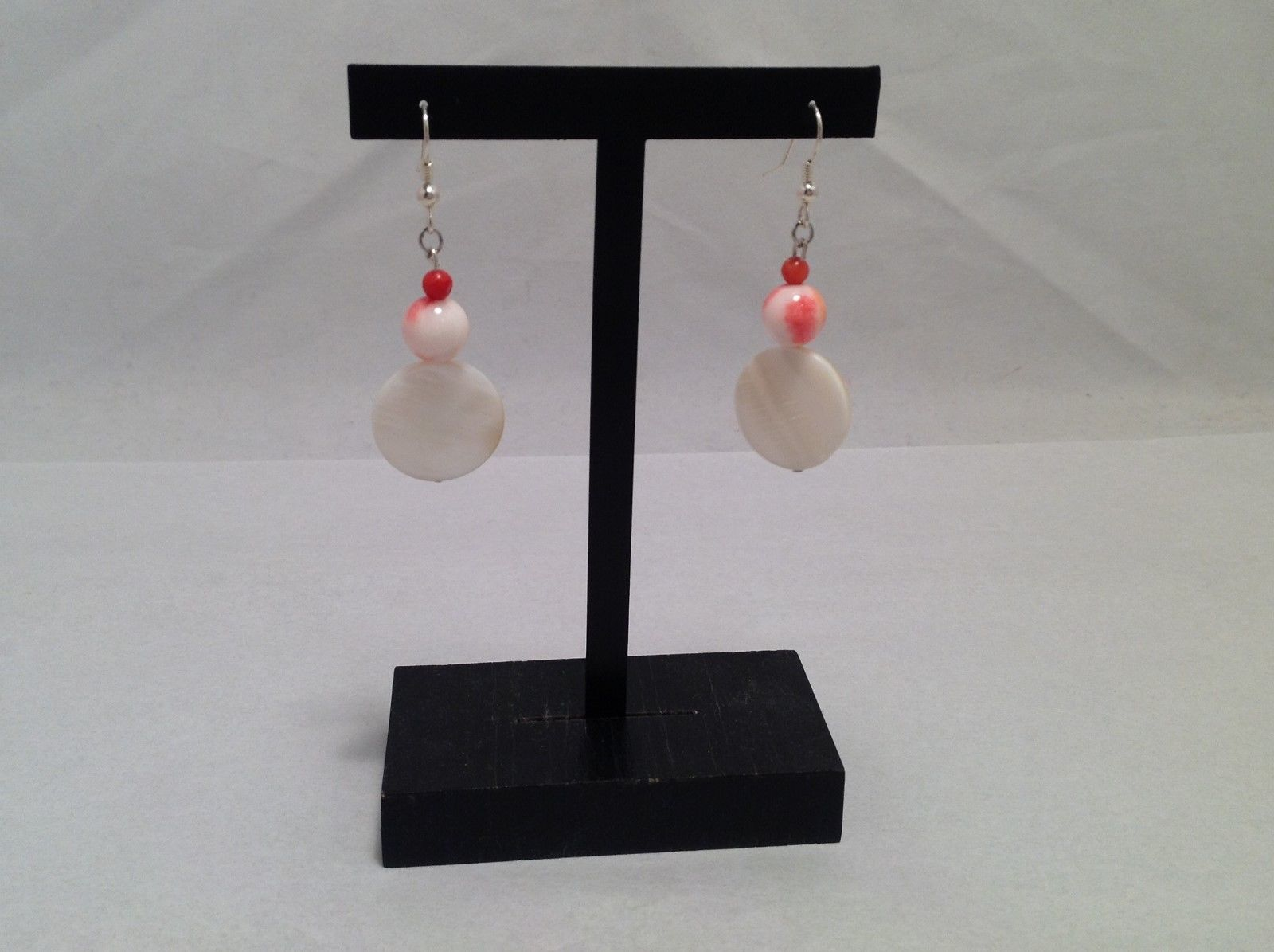 Beautiful NEW Handmade One of A Kind Teardrop Earrings