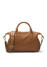 Michael Kors Raven Luggage Leather Zip Closure ... - $419.99