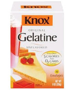 Knox Original Unflavored Gelatine 32 count - $11.82