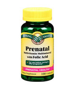 Prenatal Vitamins Spring Valley 1 per day dose 100 tablets - $7.19