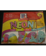 Assorted Neon food coloring McCormick 4pk purple green pink blue - $5.64